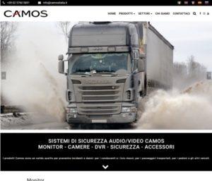 realizzazione sito woocommerce camositalia.it